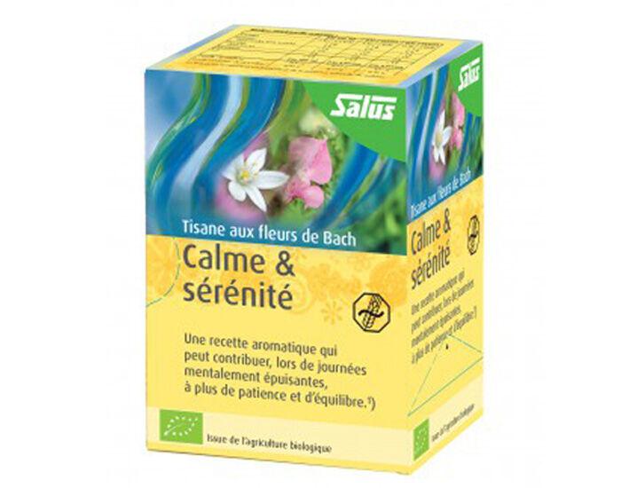 SALUS Tisane Fleurs de Bach - Calme et Sérénité - 15 Sachets
