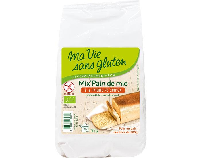 MA VIE SANS GLUTEN Mix Pain de Mie à la Farine de Quinoa - 500 g