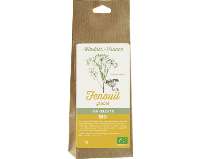 L'HERBIER DE FRANCE Fenouil graines - 50 g