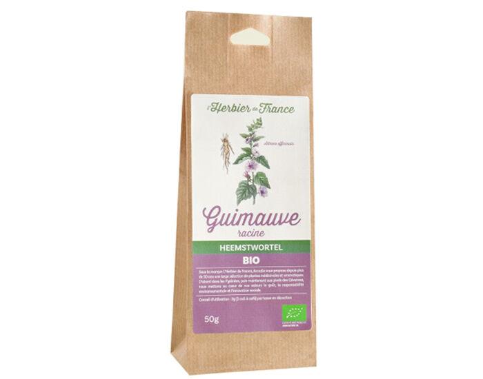 L'HERBIER DE FRANCE Racine de Guimauve pour Tisane - 50 g