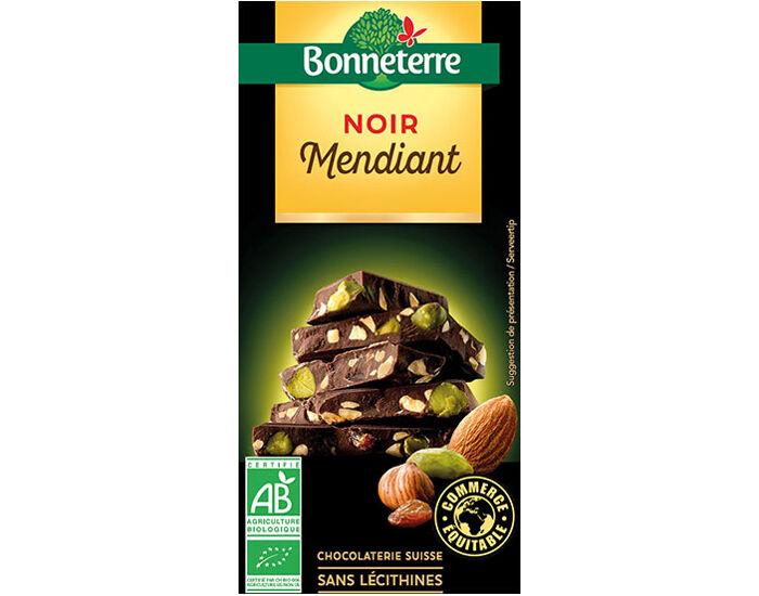 BONNETERRE Chocolat Noir Mendiant - 100g