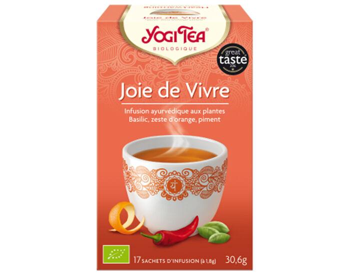 YOGI TEA Tisane en Sachet - Joie de Vivre - 17 Sachets