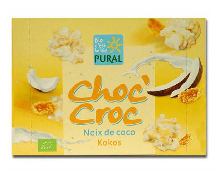 PURAL Choc'Croc Coco Chocolat Blanc - 100 g