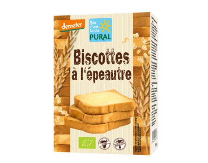 PURAL Biscottes Epeautre - 200 g