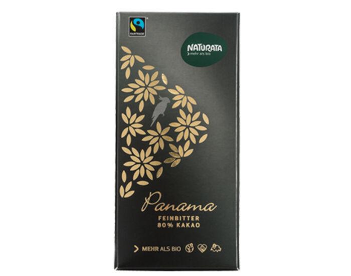 NATURATA Chocolat noir supérieur - Panama 80% cacao