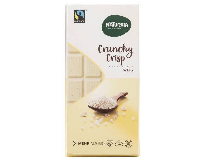 NATURATA Chocolat Blanc Croustillant - 100 g