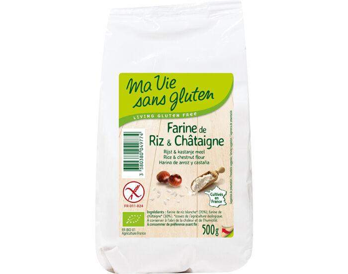 MA VIE SANS GLUTEN Farine de Riz et Châtaigne - 500 g