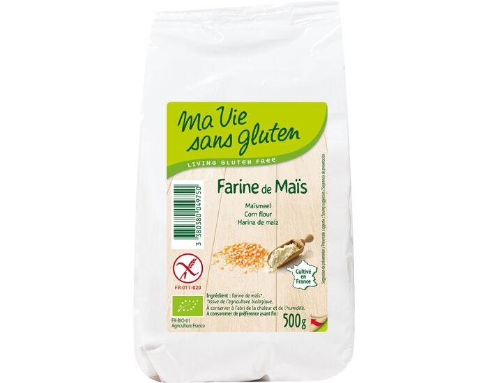 MA VIE SANS GLUTEN Farine de Maïs - Sans Gluten - 500 g