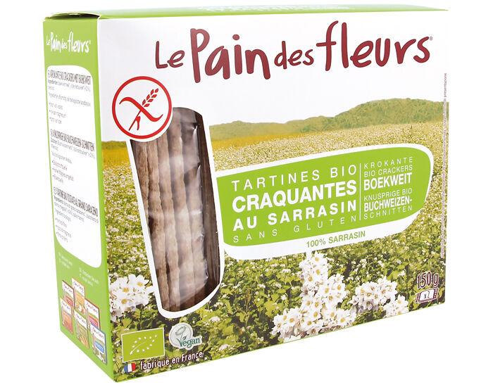 LE PAIN DES FLEURS Tartines Craquantes au Sarrasin 150 g