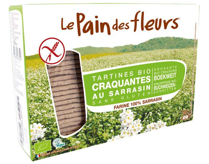 LE PAIN DES FLEURS Tartines Craquantes au Sarrasin 300 g