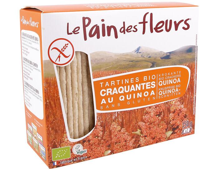 LE PAIN DES FLEURS Tartines Craquantes au Quinoa - 150 g