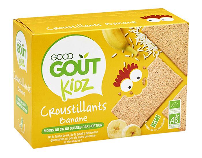 GOOD GOûT GOOD GOUT KIDZ Croustillants Banane - 110 g - Dès 3 ans