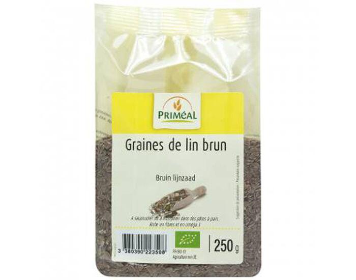 PRIMEAL PRIMÉAL Graines de Lin Brunes - 250g