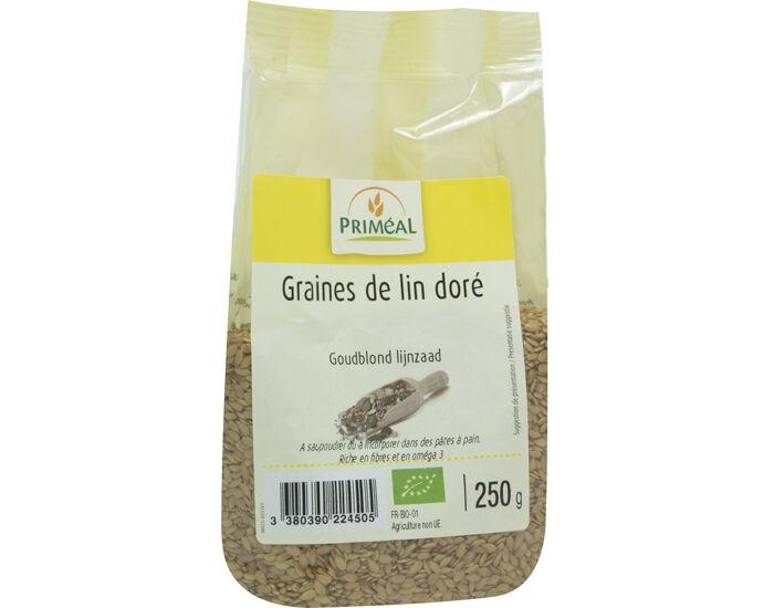 PRIMEAL PRIMÉAL Graines de Lin Dorées - 250g