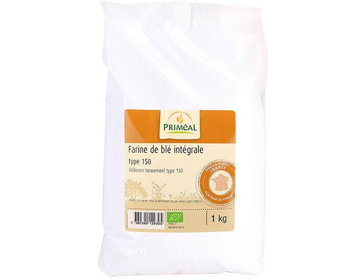 PRIMEAL PRIMÉAL Farine Intégrale de Blé T150 1Kg