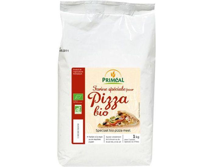PRIMEAL Farine Spéciale pour Pizza Bio 1Kg