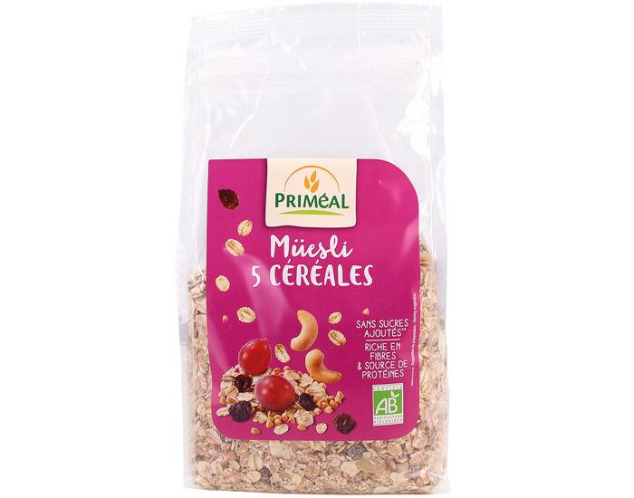 PRIMEAL Muesli 5 Céréales - 500g