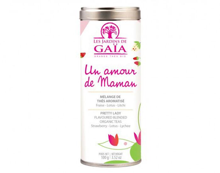 LES JARDINS DE GAIA Coffret Thé Un Amour de Maman - Tube de 100 g