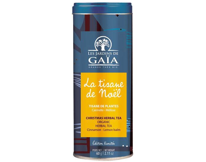 LES JARDINS DE GAIA  Tisane de Noël - Fruits et Épices - Tube 60 g