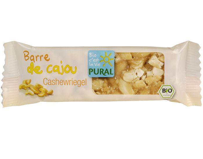 PURAL Barre aux Noix de Cajou - 30 g