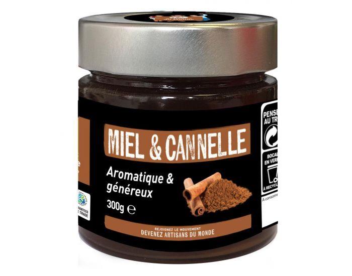 ARTISANS DU MONDE Miel Bio à la Cannelle - 300g