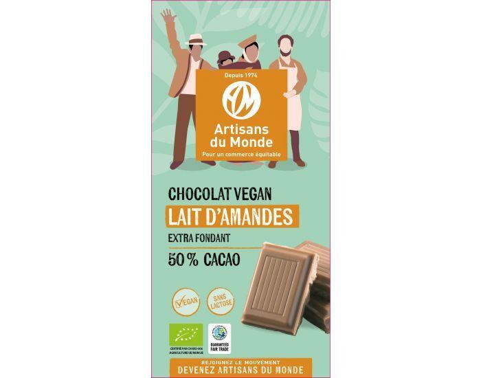ARTISANS DU MONDE Chocolat Vegan bio Lait d'Amande - 100g