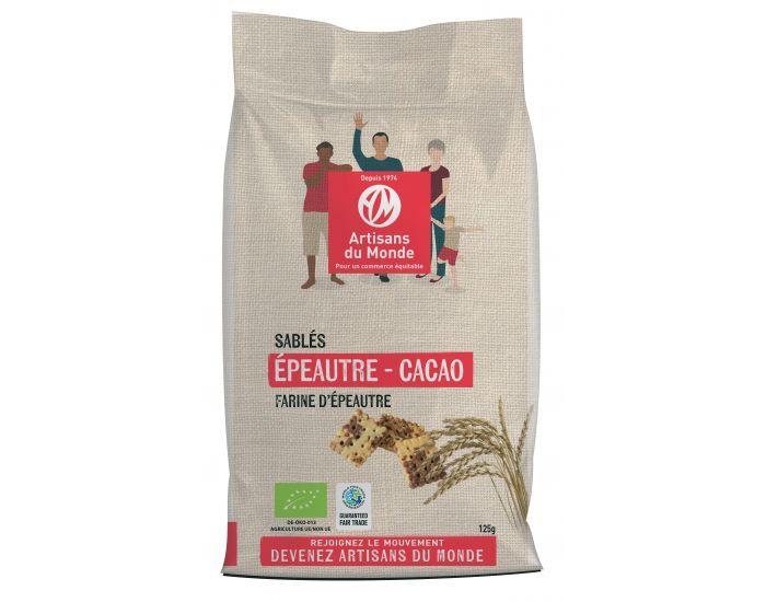 ARTISANS DU MONDE Sablés Epeautre Cacao Bio - 125g