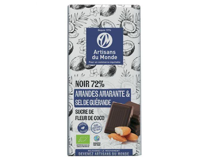 ARTISANS DU MONDE Chocolat Noir Amande Amarante - 100g