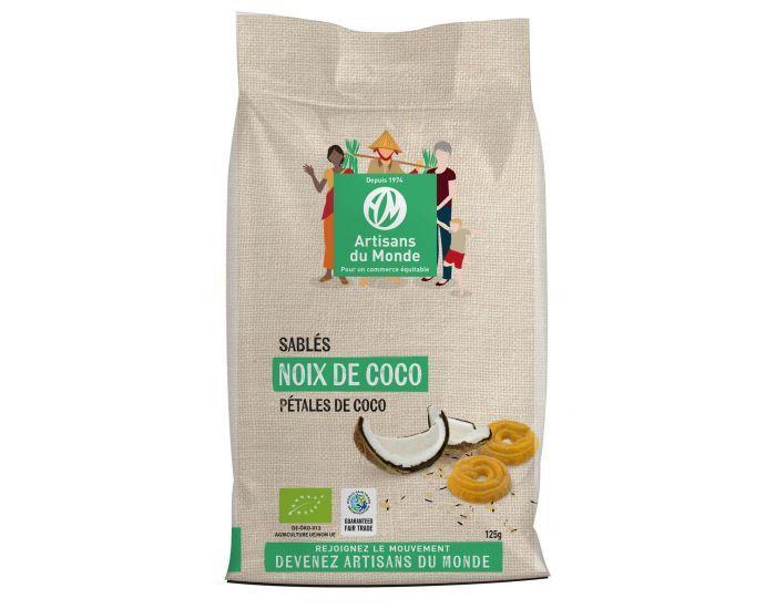 ARTISANS DU MONDE Biscuits Sablés Noix de Coco Bio - 125g