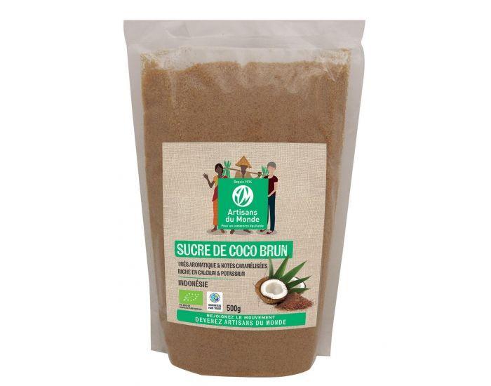 ARTISANS DU MONDE Sucre de Fleur de Coco Bio 500 g
