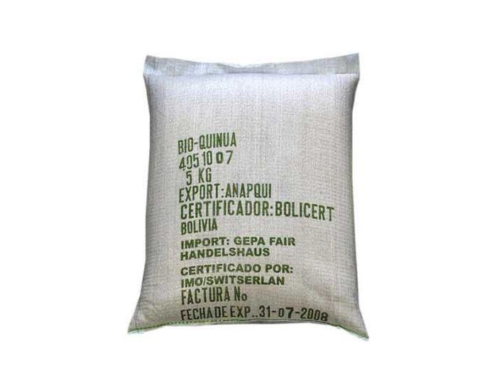 ARTISANS DU MONDE Quinoa Bio en Vrac - Sac de 5 KG
