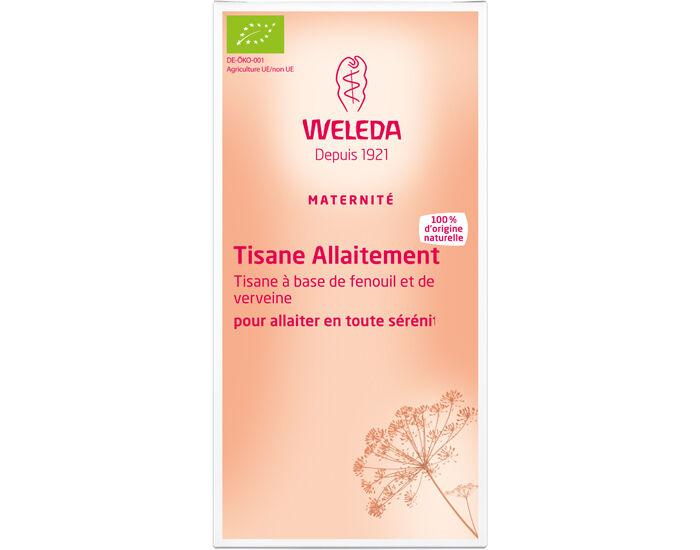 WELEDA Pack Tisanes Allaitement 4 boîtes de 20 sachets
