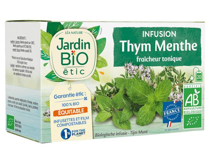 JARDIN BIO Infusion Thym Menthe