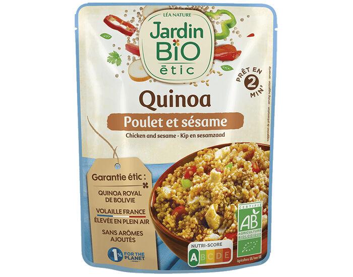 JARDIN BIO Menu Express - Quinoa Poulet Sésame - 250g