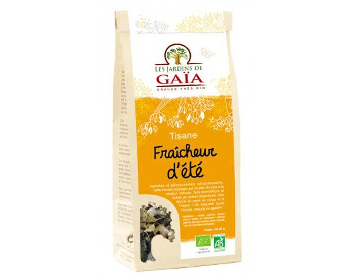 LES JARDINS DE GAIA LES JARDINS DE GAÏA Tisane Fraicheur d'Eté - 50 g