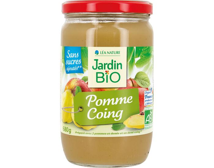 JARDIN BIO Dessert Biofruits Pomme Coing - 680 g