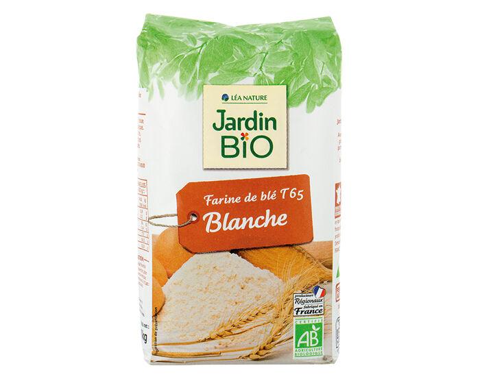 JARDIN BIO Farine de Blé Blanche T 65 - 1 kg