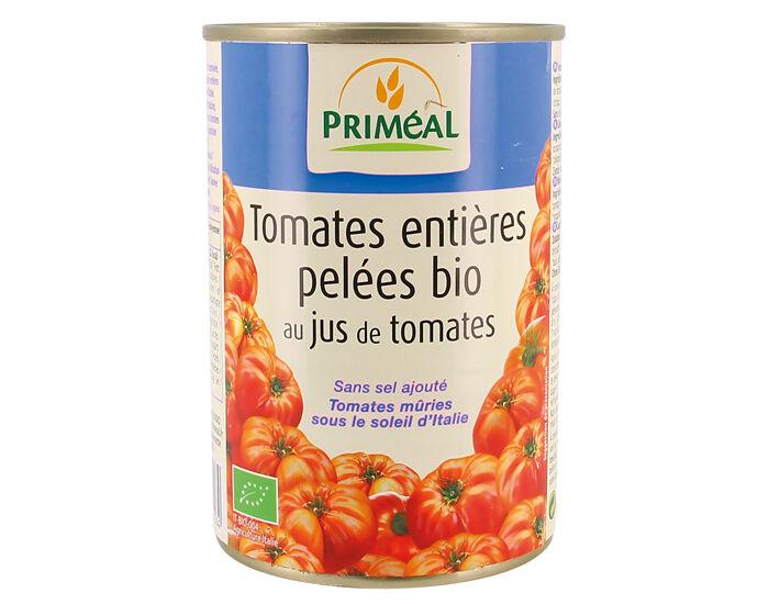PRIMEAL Tomates Pelées Entières bio - 400 g