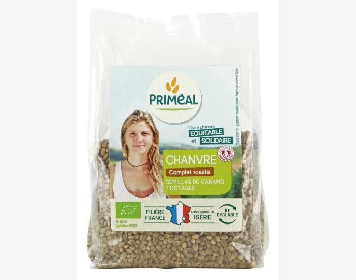 PRIMEAL Graines de Chanvre Toastées 100% France - 200 g