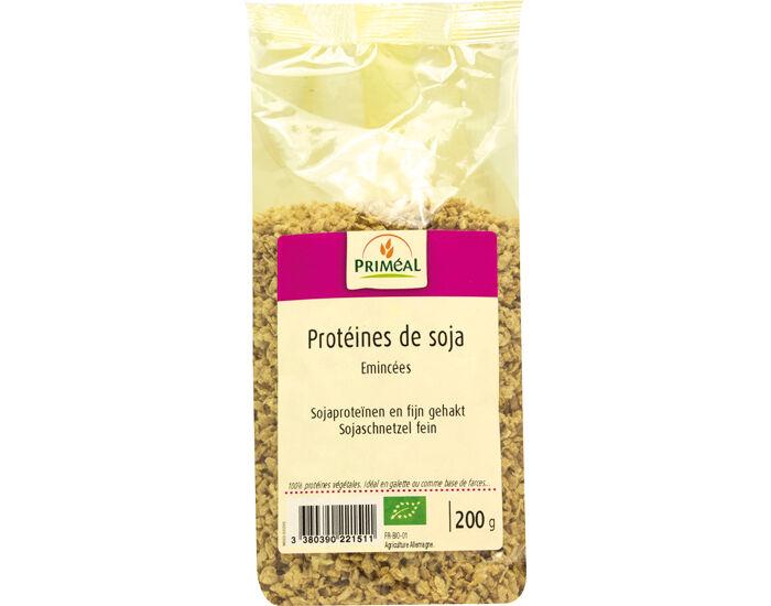PRIMEAL Protéines de Soja Émincées - 200 g