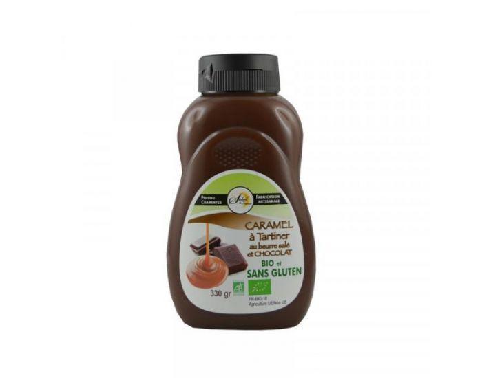 CRYSTAL GOURMET Caramel Chocolat à tartiner Bio - 330 g