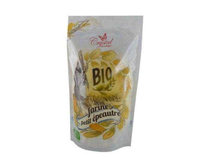 CRYSTAL GOURMET Farine de Petit Epeautre Bio - 500 g