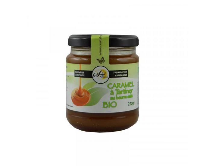 CRYSTAL GOURMET Caramel à tartiner Bio - 220 g