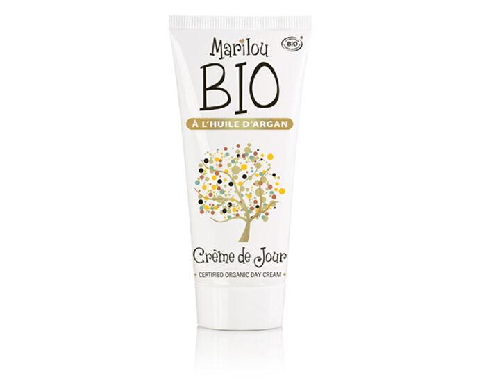 MARILOUBIO Crème de Jour à l'Huile d'Argan - 50 ml