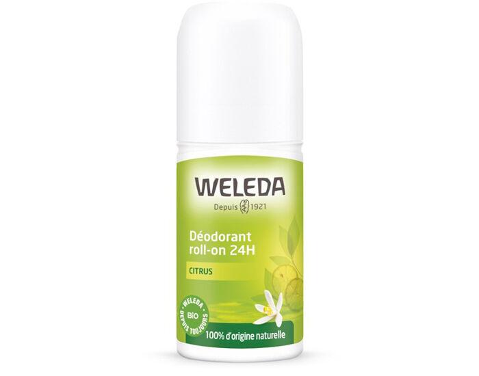 WELEDA Déodorant Roll-On 24H - Citrus - 50 ml