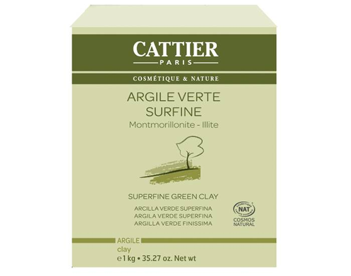 CATTIER Argile Verte Surfine 1 Kg