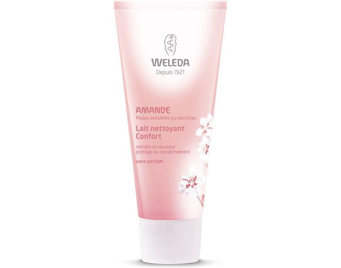 WELEDA Lait Nettoyant Confort à l'Amande - 75 ml