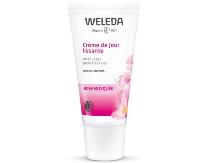 WELEDA Crème de Jour Lissante à la Rose- 30 ml
