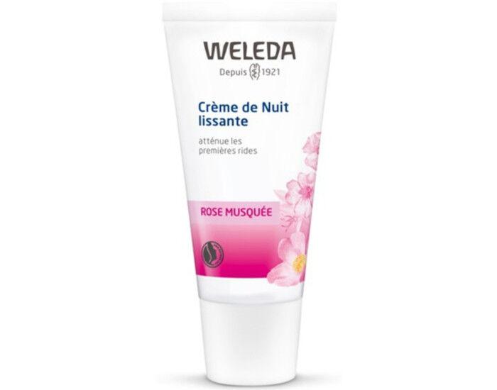 WELEDA Crème de Nuit Lissante à la Rose - 30 ml