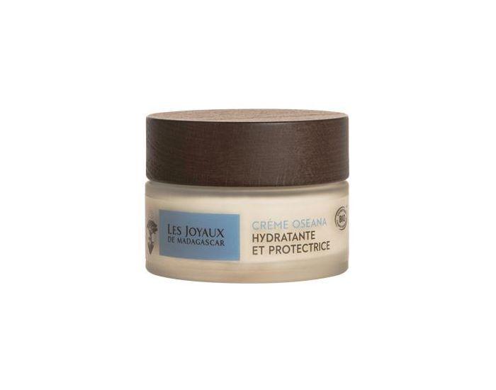 LES JOYAUX DE MADAGASCAR Crème hydratante et protéctrice OSEANA Bio 50 ml